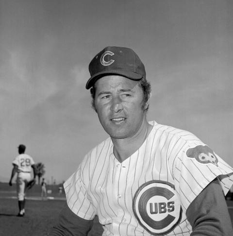 Chicago Cubs infielder Ron Santo is shown in Scottsdale, Ariz., 1971.