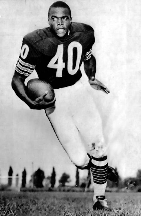 Gale Sayers: No. 40.