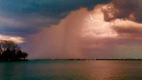 Great stormy sky on 4-25-16 taken by Dawn Toy