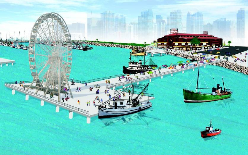 Seaport village makeover hotels towers beaches and more for Fish market seaport village