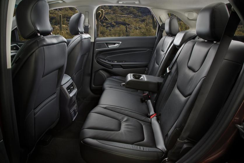 The Back Seat Is Also Roomy With A Low Center Transmission Tunnel