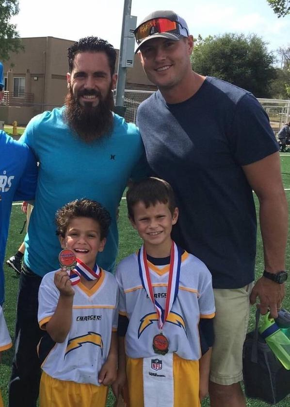 Rivers Weddle Proud Flag Football Dads The San Diego