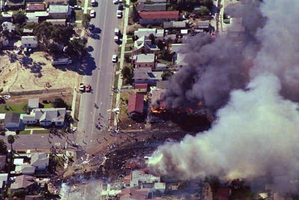 Fire In San Diego Today >> Crash of PSA Flight 182 vivid 35 years later - The San Diego Union-Tribune
