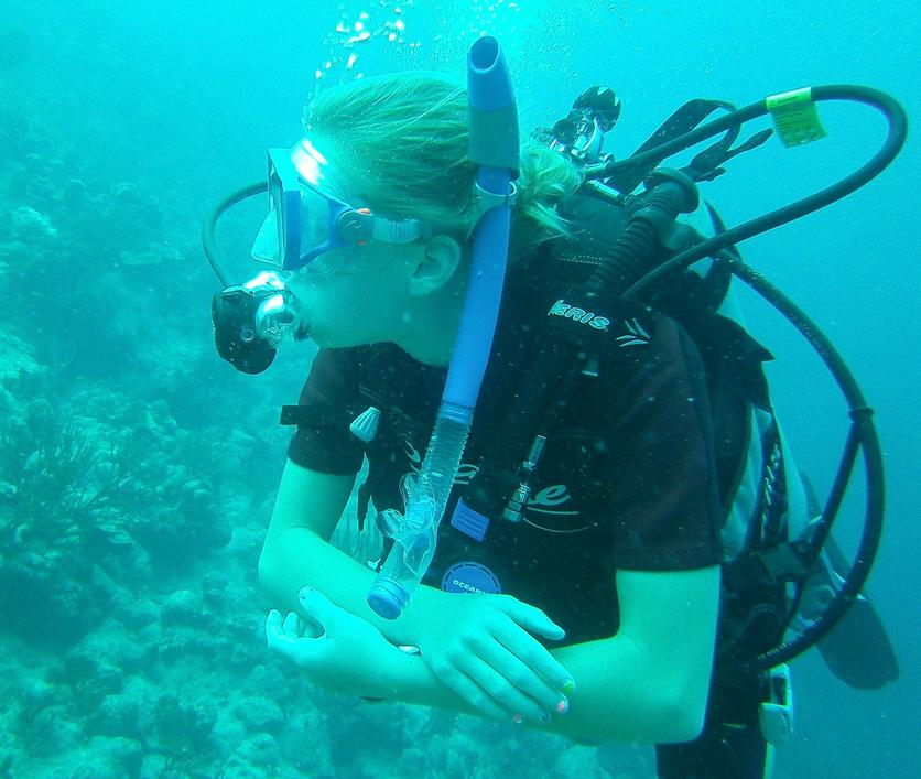 Caribbean Diving Trip Is Family Affair The San Diego Union Tribune