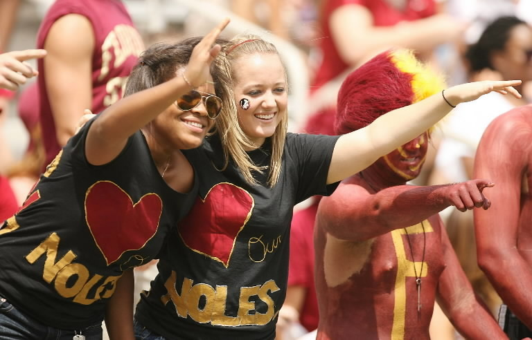 Photos: Florida State football fans and cheerleaders - FSU vs. ULM