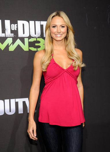 "Stacy Keibler likes ""Call of Duty."" And George Clooney still."