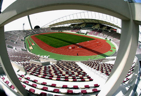Khalifa Stadium in Doha (worldstadiums.com)