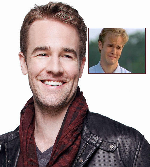"<b>Then:</b> Dawson Leery, idealistic hopeless romantic with telling long fingers and a strangely Oedipal thing for <a class=""taxInlineTagLink"" id=""PECLB004188"" title=""Katie Couric"" href=""/topic/arts-culture/mass-media/katie-couric-PECLB004188.topic"">Katie Couric</a>. Wore lots of flannel, tried every hairstyle imaginable to avoid looking 40. Did not get the girl.<br> <br> <b>Now:</b> Internet meme and surprisingly #FF-worthy tweeter at @vanderjames. You can catch him playing himself on ABC's comedy ""The B---- in Apartment 23."" (If he didn't have a wife and kids, and spent most of his time wearing Dawson-esque flannel and referencing <a class=""taxInlineTagLink"" id=""PECLB001067"" title=""Paula Cole"" href=""/topic/entertainment/music/paula-cole-PECLB001067.topic"">Paula Cole</a> to pick up girls.)"