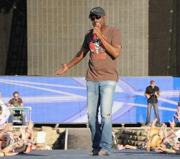 Darius Rucker performs during Country Thunder music festival July 23, 2011 in Twin Lakes, Wisconsin.