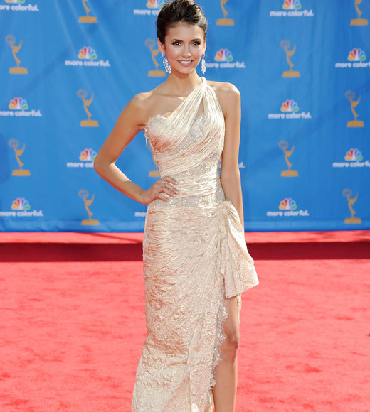 2010 Emmys Red Carpet Arrivals: Nina Dobrev, The Vampire Diaries
