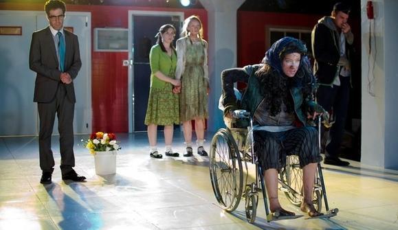 "Zeke Sulkes, Tien Doman, Erin Barlow, Lindsey Gavel and Walter Briggs in ""Seven Sicknesses."""