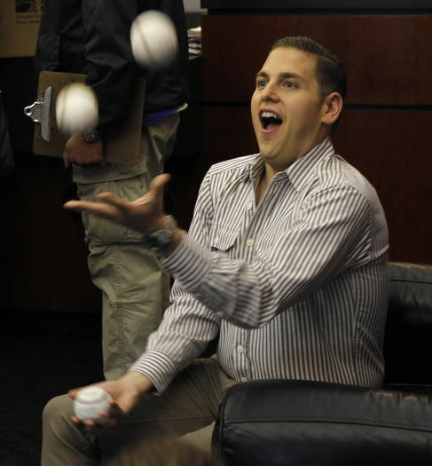 Jonah Hill of 'Moneyball'