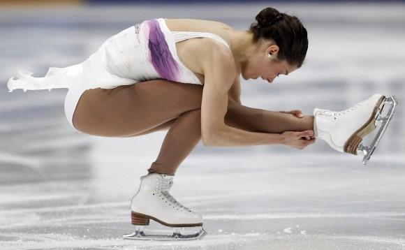 Alissa Czisny at the 2011 worlds (Grigory Dukors / Reuters)