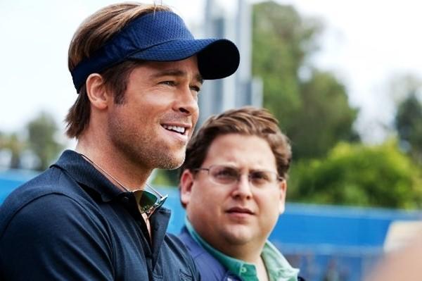 """Brad Pitt and Jonah Hill star in """"Moneyball."""""""