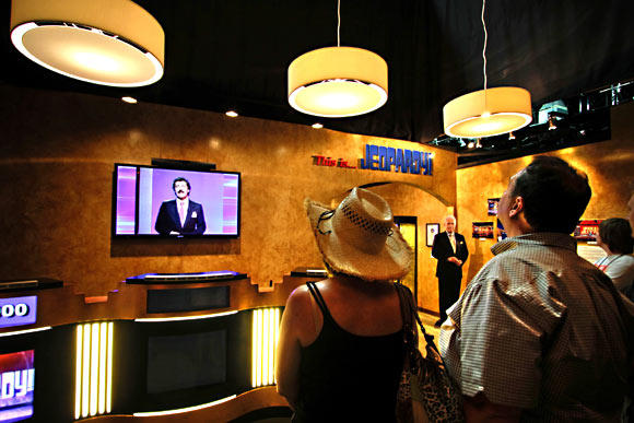 "Sony Studios' two-hour guided walking tour costs $33 and includes the soundstage where ""Jeopardy!"" has been shot since 1984."