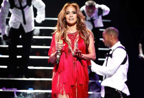 Jennifer Lopez's co-headlining show with Enrique Iglesias scheduled for Sunday at the Honda Center in Anaheim has been canceled.