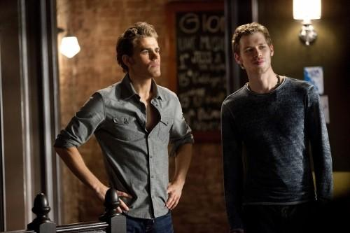 In tonight's episode, Klaus reminded Stefan about his past.