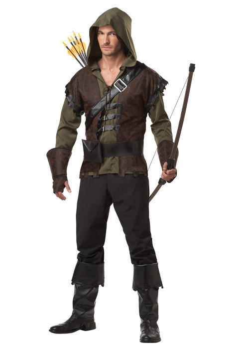 "We can't all be Russell Crowe, but we can dream. The outlawed archer and swordsman is expected to make a return this year as a go-to costume for guys. Check out your options <a href=""http://www.purecostumes.com/halloween-costumes/01129/robin-hood-adult-costume.html"" target=""new"">here</a>. Warning: Bad ass attitude not included."