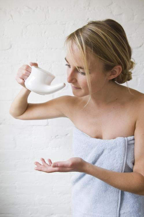 There are a few things you can do to make sure you avoid your co-workers' cooties this cold and flu season. For one, make use of a neti pot -- it can help flush potential bugs out of your sinus cavity.