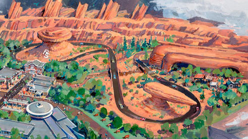 Radiator Springs Racers aims to redefine our expectations of an E Ticket attraction by combining a classic dark ride with a thrilling head-to-head drag race.
