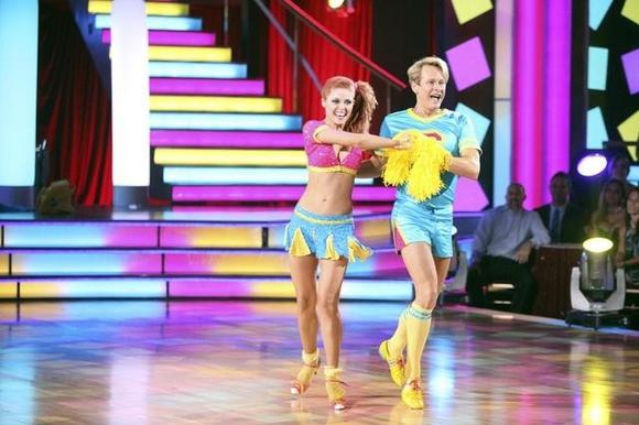 Anna Trebunskaya and Carson Kressley