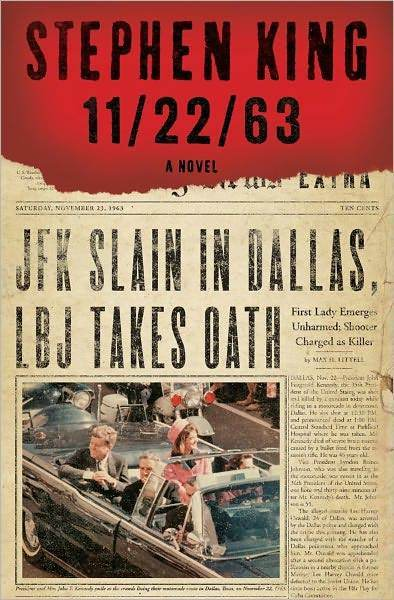 A man travels back in time to try to prevent the assassination of John F. Kennedy (hence the title) in King's latest thousand-pager. (Out Nov. 8) -- Jordan Bartel, b