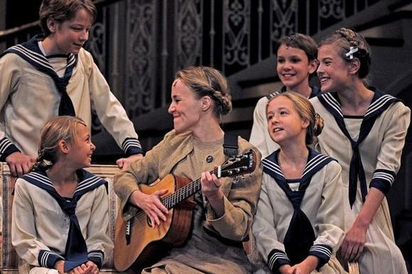 """The Sound of Music"" at the Drury Lane Theatre stars Jennifer Blood as Maria."