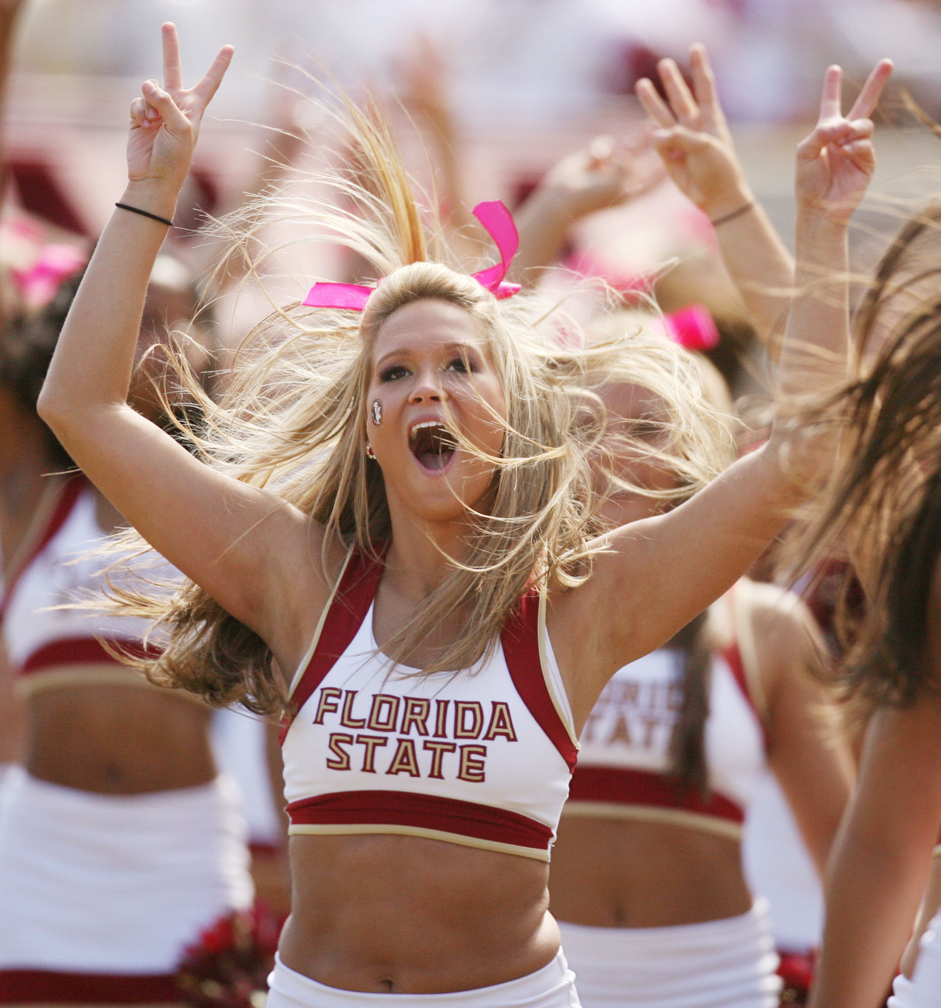 Photos: Florida State football fans and cheerleaders - FSU vs. NC State
