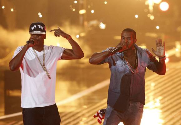 Jay-Z and Kanye West bring their Watch the Throne tour to 1st Mariner on Tuesday and Verizon Center on Thursday.