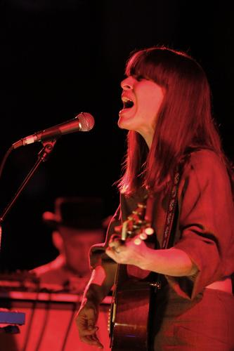 Feist performs at the Riviera Nightclub on Friday, Nov. 4, 2011, in Chicago.