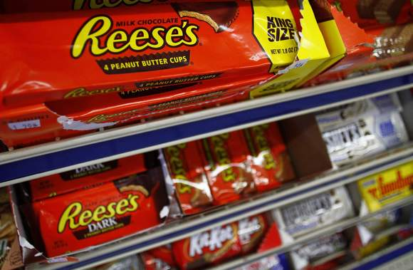 Watch out for Reese's at your next Thanksgiving dinner.