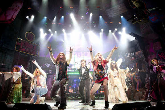 """Rock of Ages"" is at the Oriental Theatre in the Loop."