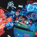 Buzz Lightyear's Space Ranger Spin at Walt Disney World Magic Kingdom