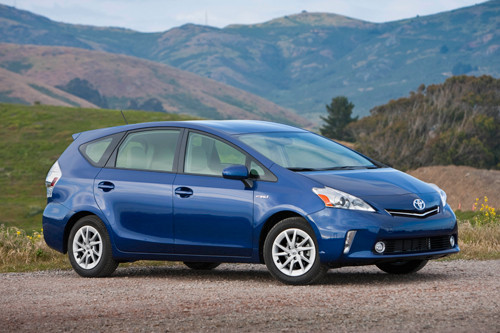 L.A. Auto Show: Green Car of the Year Contenders - Toyota Prius v