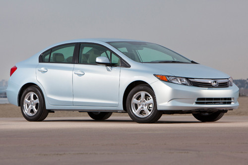 L.A. Auto Show: Green Car of the Year Contenders - The Winner: Honda Civic Natural Gas