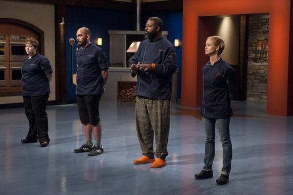 Who went home on Episode 3 of 'Top Chef: Texas'?