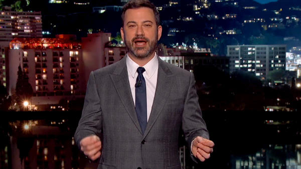 Jimmy Kimmel will host the 64th Primetime Emmy Awards ceremony on Sept. 23.
