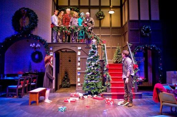 """Seasons Greetings"" is by Alan Ayckbourn at Northlight Theatre in Skokie."
