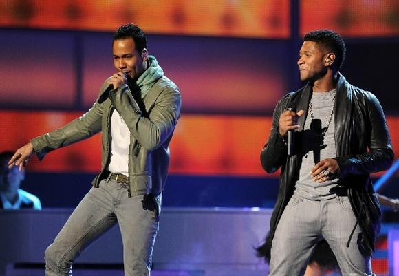 Romeo Santos and Usher