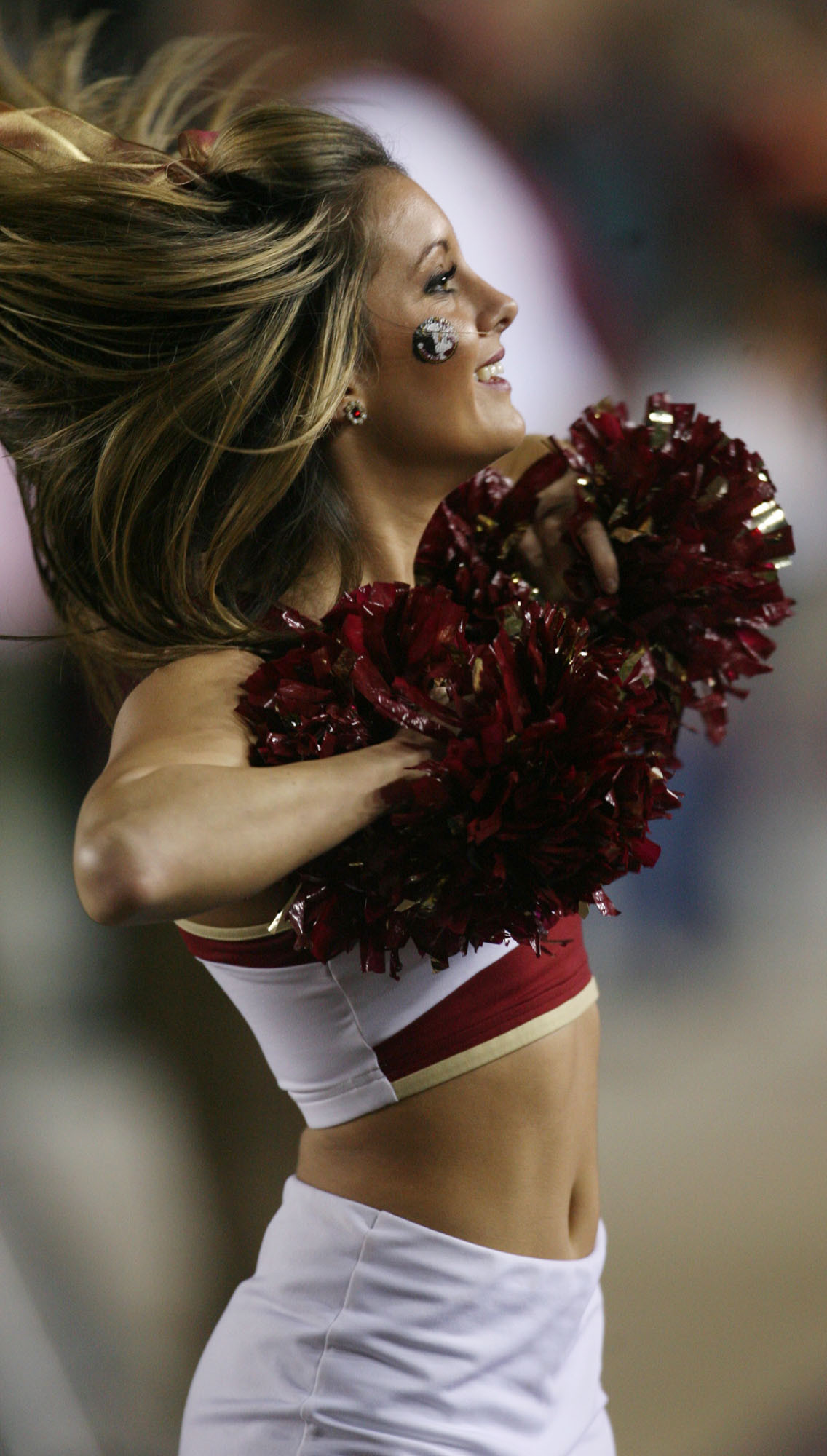 Photos: Florida State football fans and cheerleaders - Florida State vs. Virginia