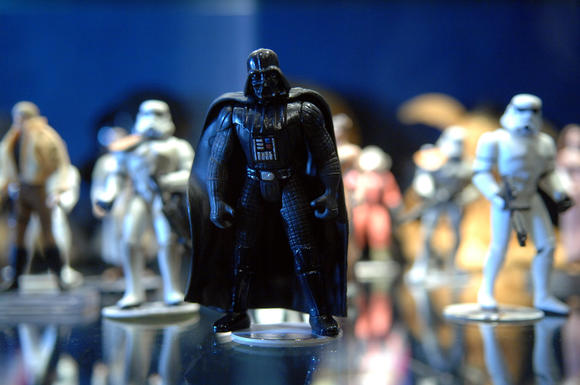 A Darth Vader keychain is not the way to your significant other's heart.