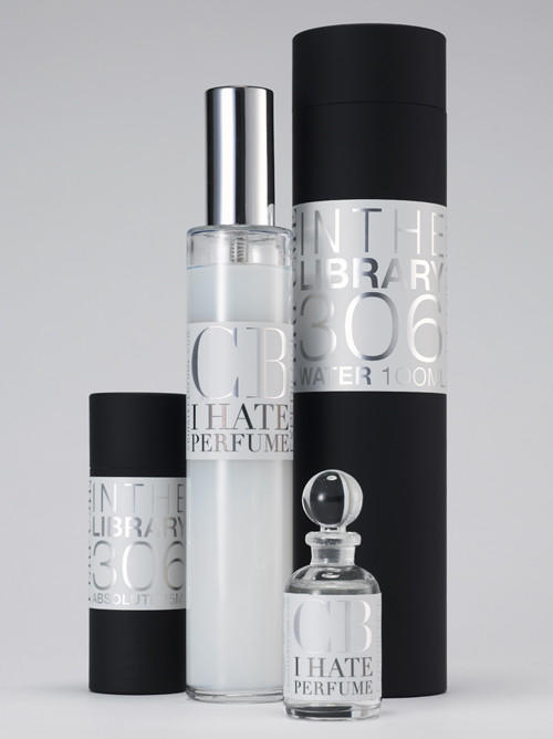 """$12-$90; <a href=""""http://www.cbihateperfume.com"""">cbihateperfume.com</a> <br><br> Brooklyn, N.Y.-based CB I Hate Perfume is behind the Alan Cumming fragrances, so this collection, """"a warm blend of English novel, Russian and Moroccan leather bindings, worn cloth and a hint of wood polish,"""" should not be that shocking. Line includes different sizes of perfume and a home spray."""