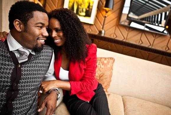 Michael Jai White and Tasha Smith