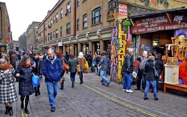 Brick Lane, London's East End