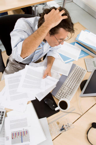 The overwhelmed:  This person tries to please too many people all of the time. Spends too many hours at the office and probably neglects his/her family.