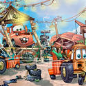 7) Mater's Junkyard Jamboree - Disney California Adventure