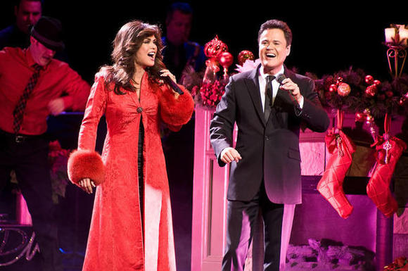 """Donny and Marie: Christmas in Chicago"" is now at the Oriental Theatre."