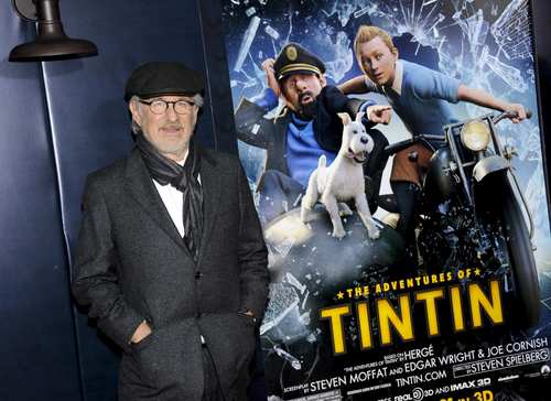 Steven Spielberg directs the film that follows comic book hero Tintin as he searches for lost treasure.