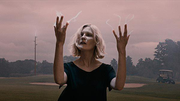 "There were expansive and provocative treatises on the meaning of life and the world as we know it, close to out-of-body experiences for audiences watching, with Lars von Trier's ""Melancholia,"" starring Kirsten Dunst (shown), narrowly edging Terrence Malick's ""The Tree of Life."""