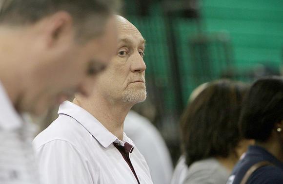 Dennis Wolff, Virginia Tech's women's basketball coach